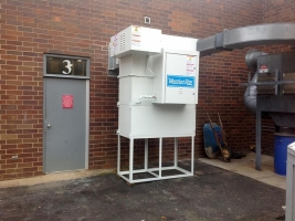 Industrial direct-fired air handlers by AISECO