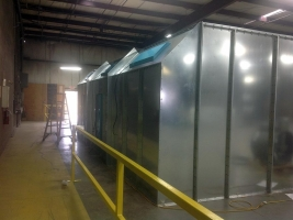 spray booth installed by AISECO
