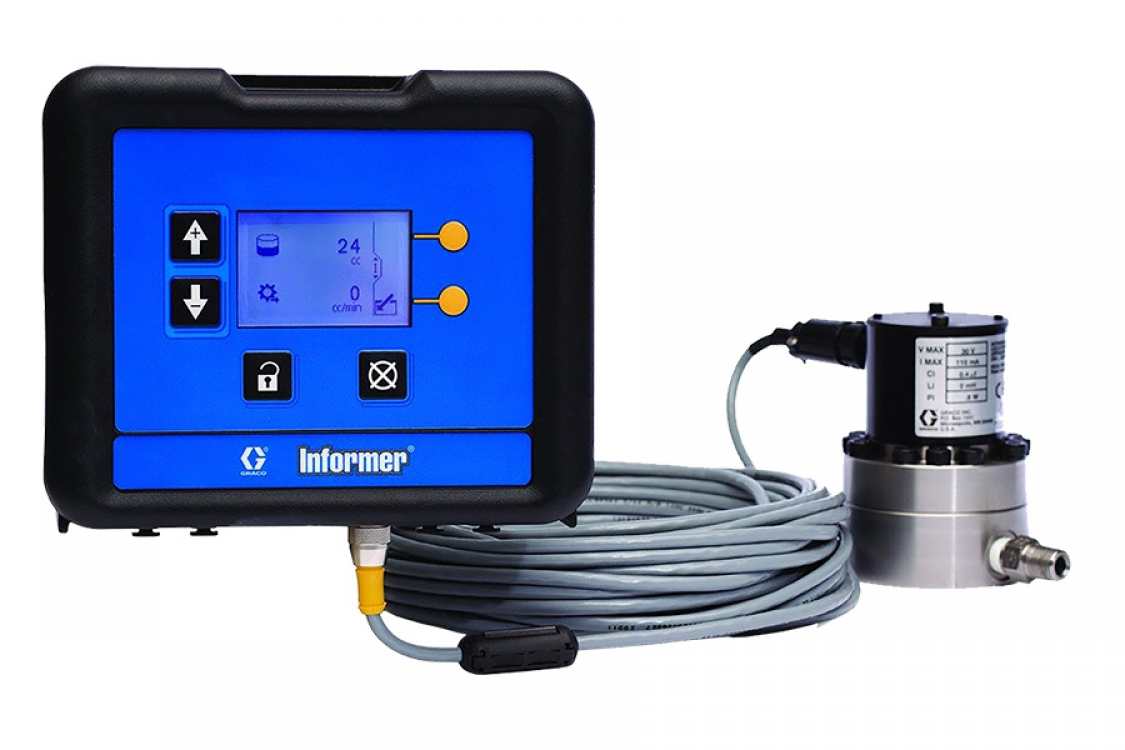 in-line fluid monitoring package