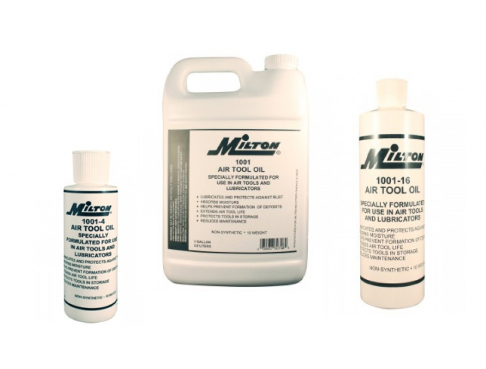 milton industries air tool oils