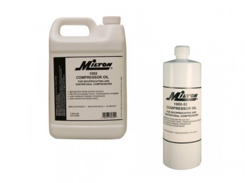 milton compressor oil