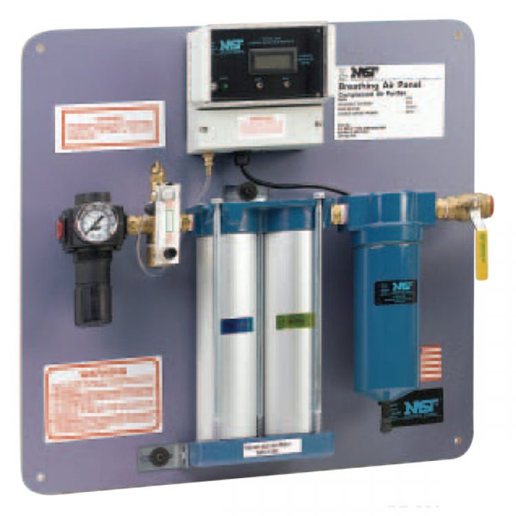 wall mount breathing system non co removing