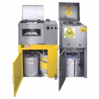 spray paint cleaner and solvent recycler
