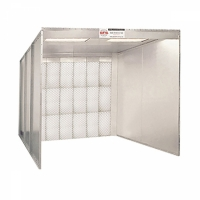 global finishing solutions open face spray booth