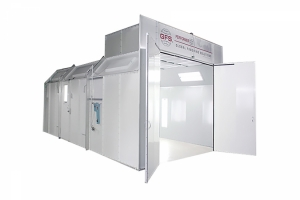 single skin spray paint spray booth