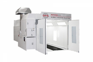 dual skin paint booth performer xp1