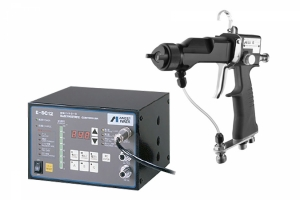 electrostatic spray gun and controller